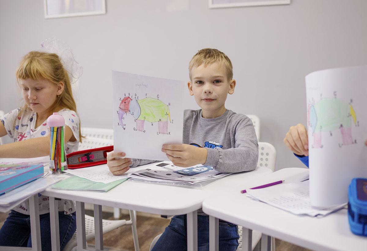 Курсы английского для дошкольников
