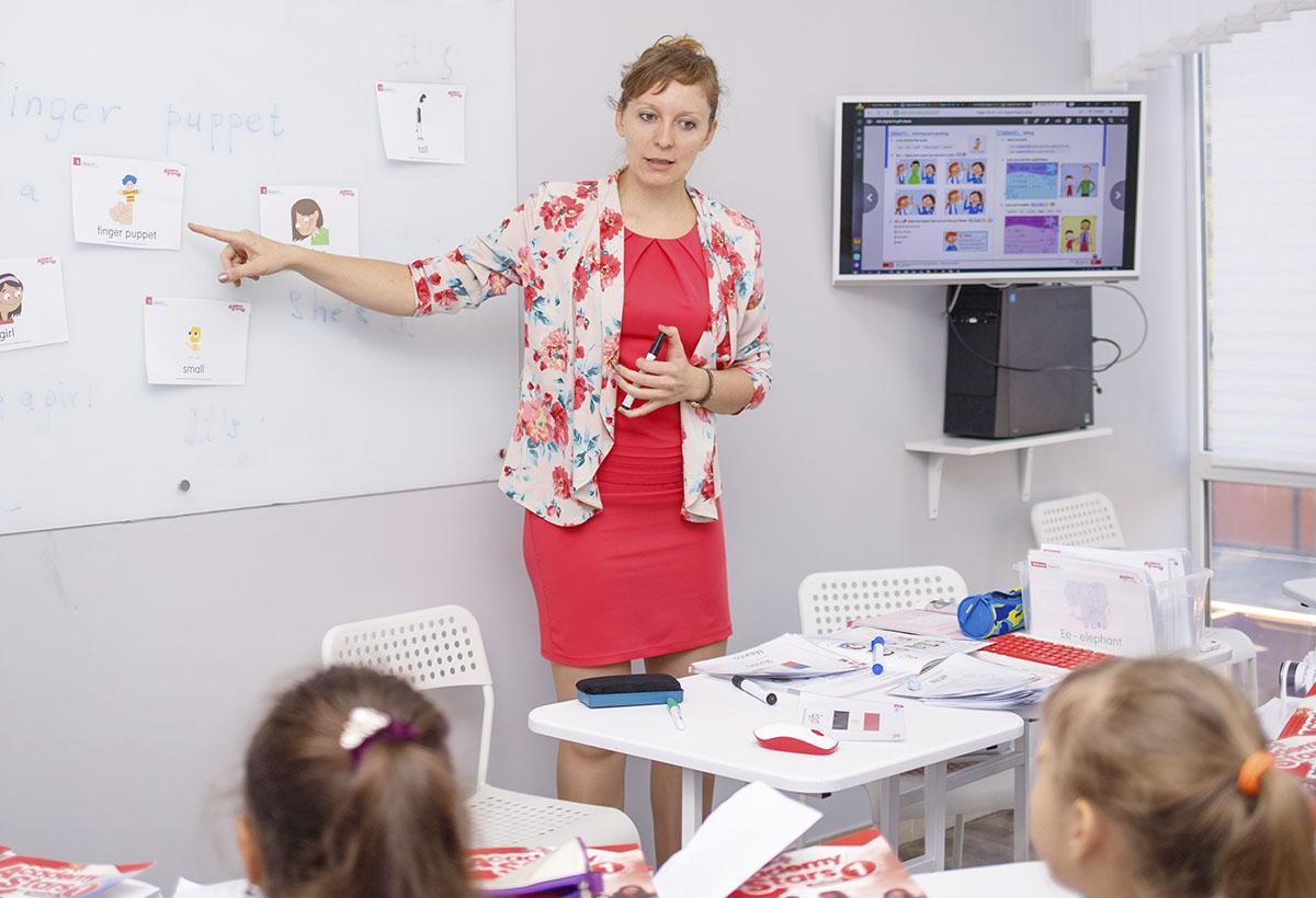 Обучение английскому дошкольников